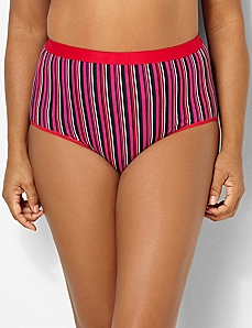 Bold Stripes Cotton Full Brief