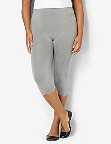 Seamless Control Top Capri Leggings