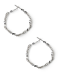 True Twist Hoop Earrings