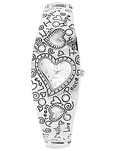 Heart Charm Watch