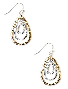 Tiered Teardrop Earrings