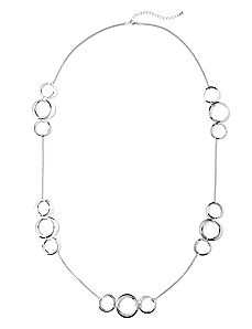 Layered Hoop Necklace