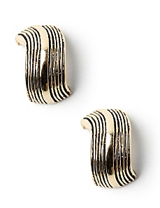 Curvy Post Earrings