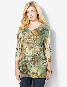 Arcadian Lace Top