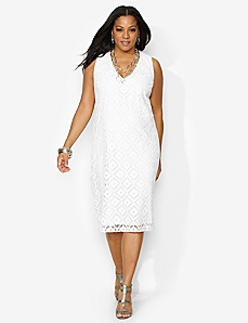 Fairhaven Crochet Dress