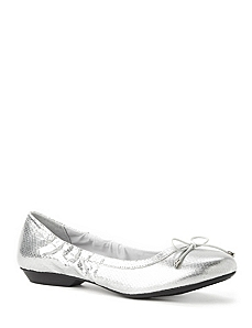 Croc Ballet Flats