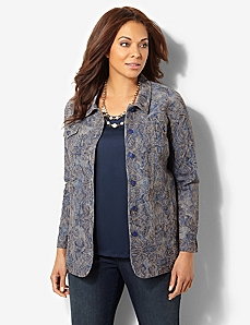 Medellin Jacquard Jacket by CATHERINES