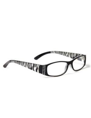 Zebra Stripe Reading Glasses