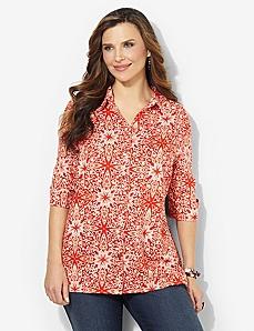 Mosaic Linen Shirt