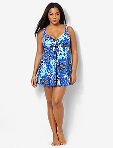 Tropical Journey Swimdress
