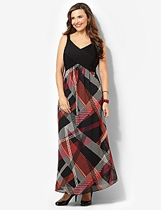 Geo Pintuck Maxi by CATHERINES
