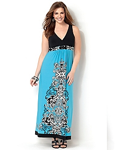 La Jolla Maxi Dress by CATHERINES