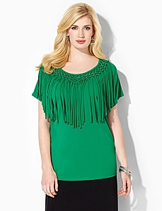 Fringe Finesse Top