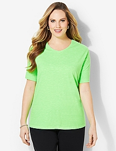 Basic Brights Tee by CATHERINES
