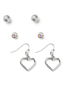 Romance 3-Pair Earring Set