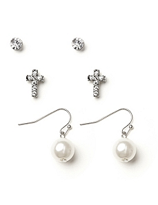 Innocence 3-Pair Earring Set