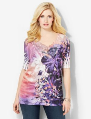 In Bloom V-Neck
