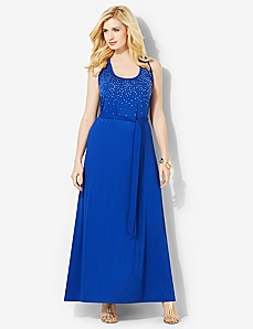 Summer Shimmer Maxi by CATHERINES