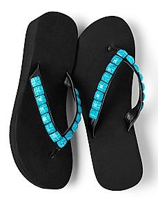 Summer Stone Flip-Flops