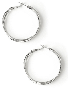 Sleek Twist Earrings