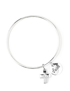 Faith Inspiration Charm Bracelet