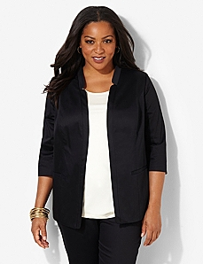 Cotton Sateen Jacket