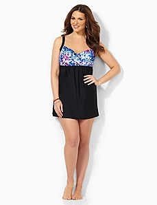 Paintburst Swimdress by CATHERINES