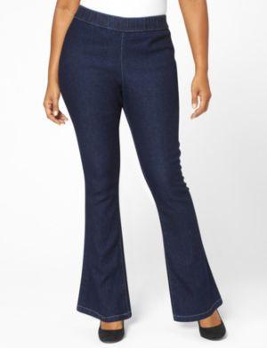 Studded Bootcut Jean
