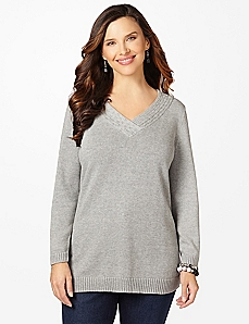 Simple Joys Long-Sleeve Sweater