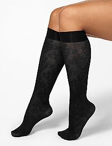 Jacquard Print Trouser Socks
