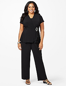 Refined Style Pantsuit by CATHERINES