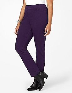 Purple Knit Jean