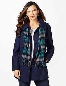 Downtown Coat & Scarf
