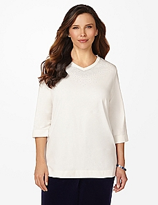 Celestial 3/4-Sleeve Top