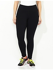 Wide Waistband Active Legging