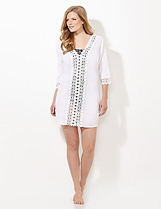 Breezy Crochet Cover-Up