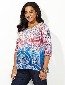 Entranced Opulence Top