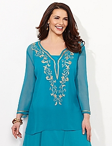 Absolute Blue Everything Imagined Tunic