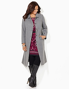 Elegant Wool Coat