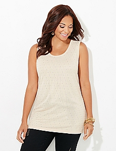 Champagne Sophisticate Tank