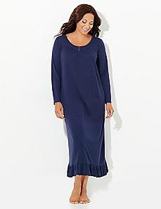 Pointelle Sleep Gown