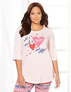 All You Need Sleep Tunic