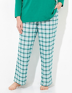 Plaid Flannel Naughty & Nice Sleep Pant