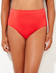 Red Seamless Full Brief