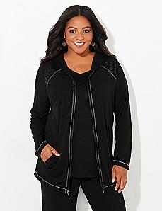 Tuxedo Shine Active Jacket