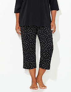 Dot Holiday Glitz Sleep Capri
