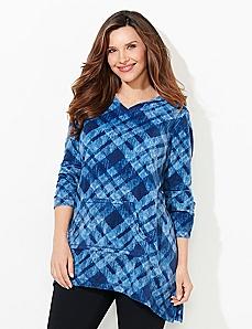 Plaid Comfort & Joy Fleece Pullover