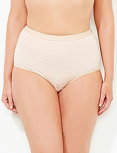 Toasted Geo-Print Cotton Full Brief