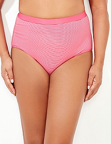 Pink Cotton Full Brief
