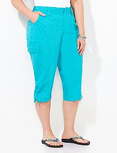 Comfort Waist Capri